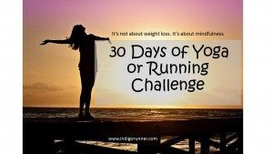 30 Days of Yoga or Running Challenge